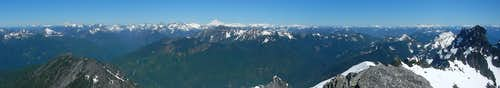 Gunnshy Summit Panorama North