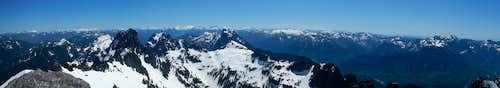 Gunnshy Summit Panorama South