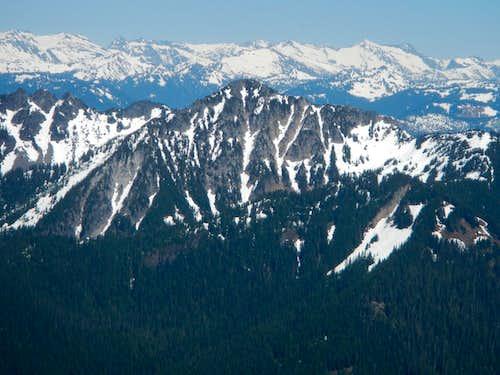 Dakobed Ridge and Spire Point