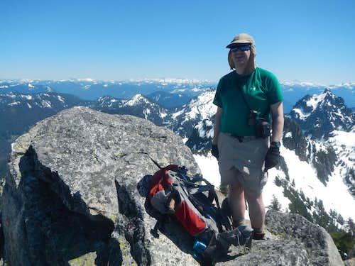 Redwic on Gunnshy Summit