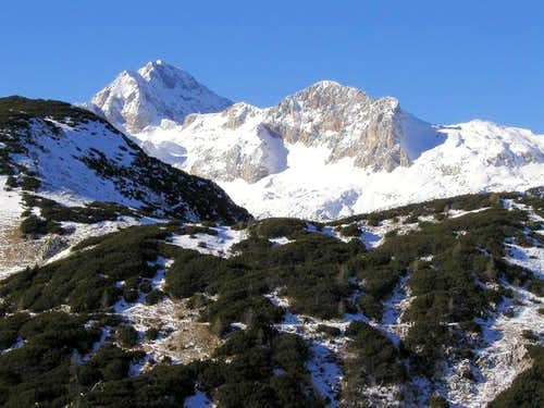 On the left is triglav and in...