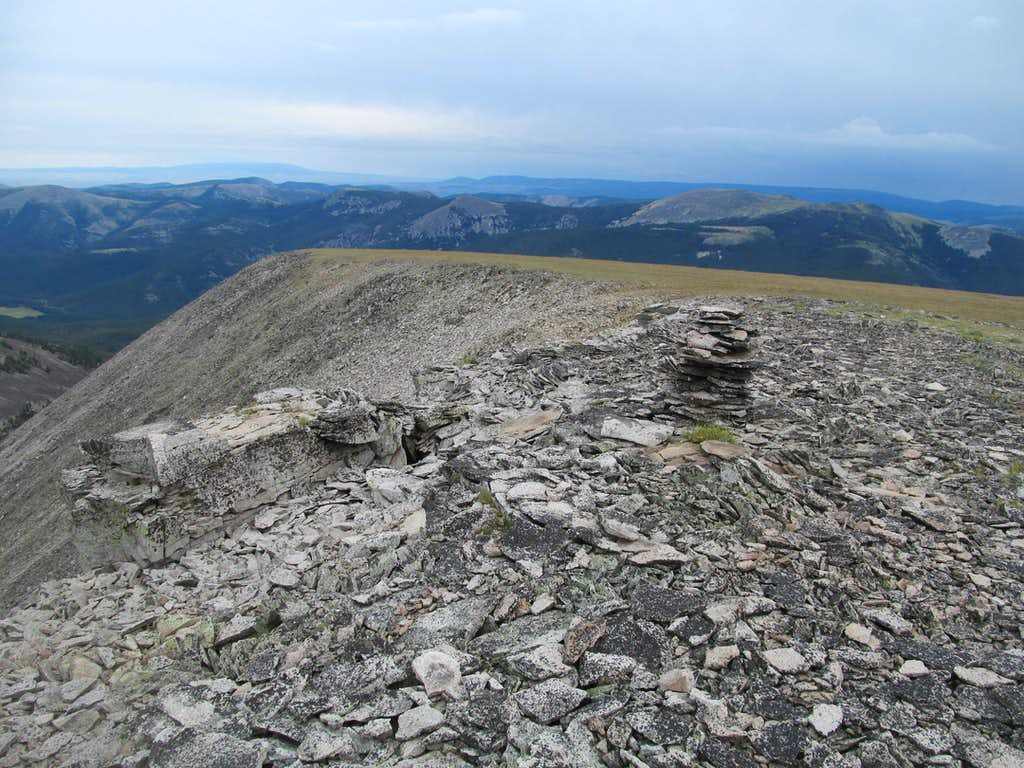 eastish from Big Baldy