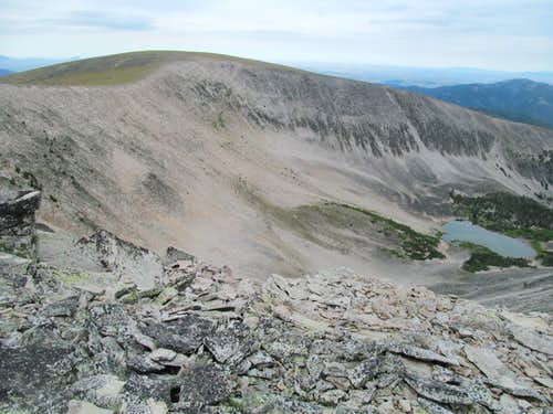 NE summit of Big Baldy