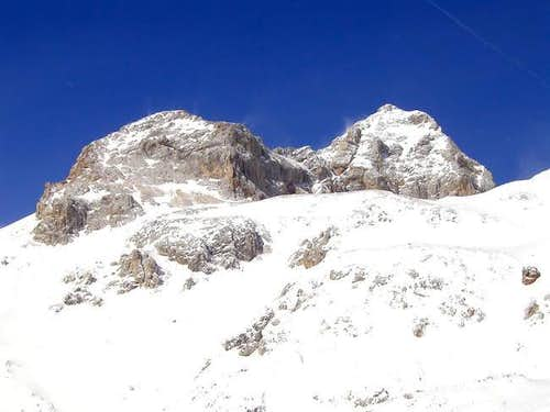 View on Triglav from the tour...