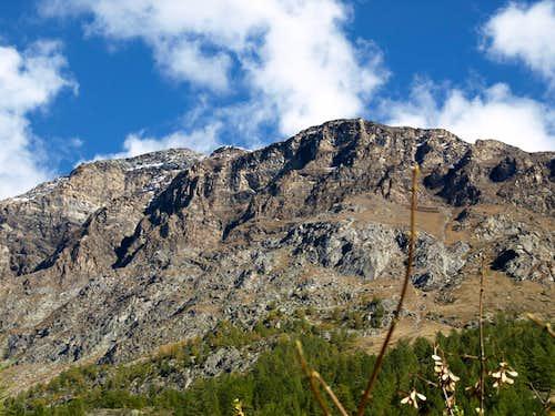 Valgrisenche in NE towards Becca de Verconey 2015