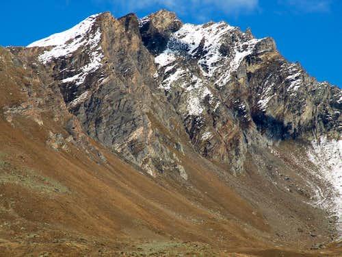 Valgrisenche Pointe de Feluma above Plonta Alps 2015