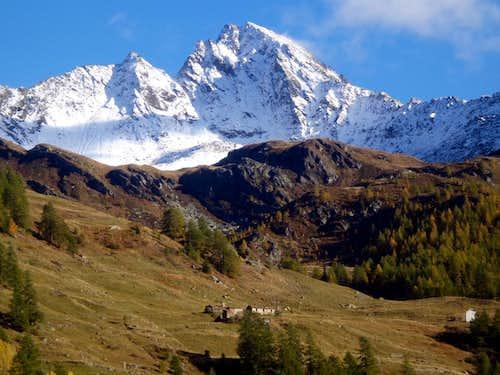 Visiting Valgrisenche Becca di Tei above Prà Longet 2015