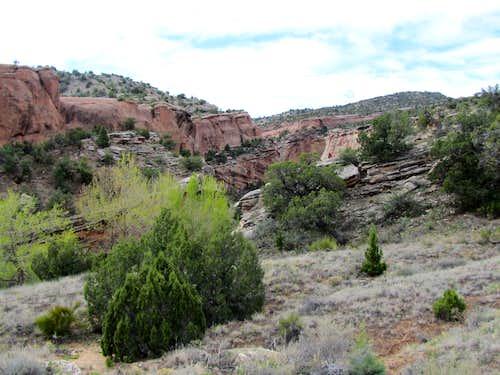 View of Echo Canyon