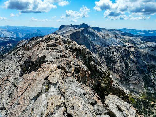 Mt. Hoffman from Tuolumne peak