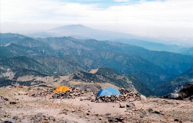 Orizaba Camp at 15,135'