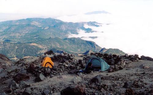 Orizaba Camp at 15,600\'