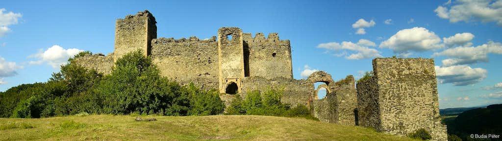Ruins of Şoimoş/Solymos castle
