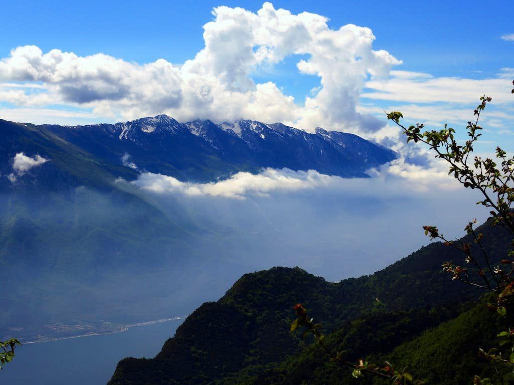 Monte Baldo seen from Cima Al Bal