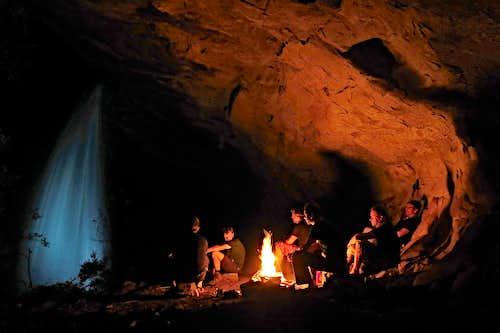 watterfall cave