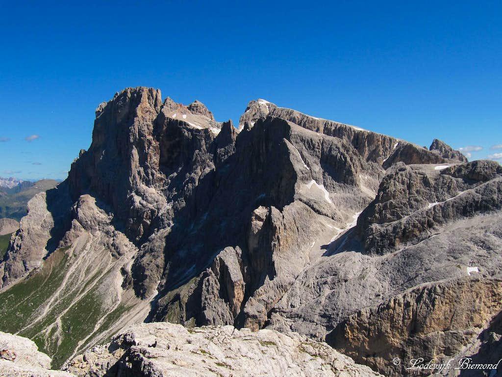 Cima della Vezzana (10471 ft / 3192 m)