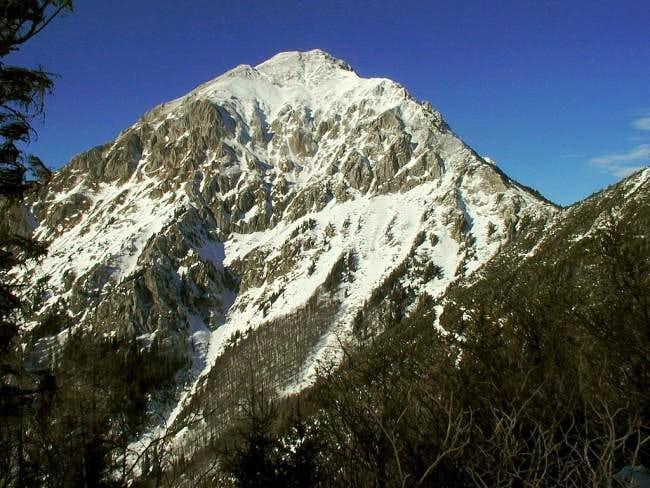 Storzic summit from Kalisce