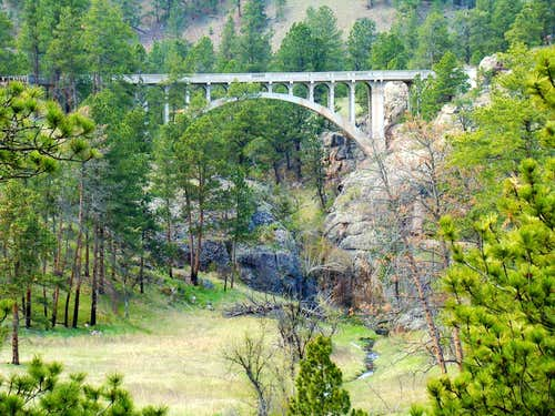 Wind Cave NP High Bridge