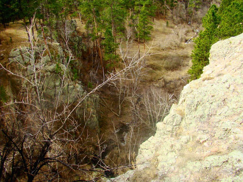 View into Beaver Creek Canyon