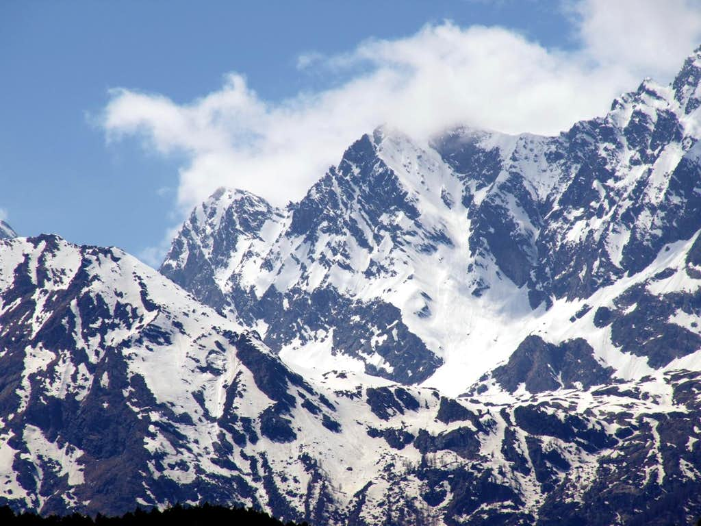 Mont Paramont South Ridge until Pointe Chenal 2016