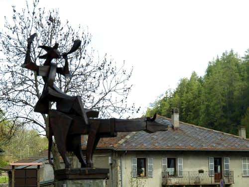 Merdeux ... Etroubles towards Gr. St. Bernard 2016