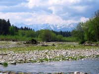 Tatry from Białka River