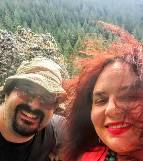 Spring Adventures with BearQueen on Little Beacon Rock and Mt. Tabor