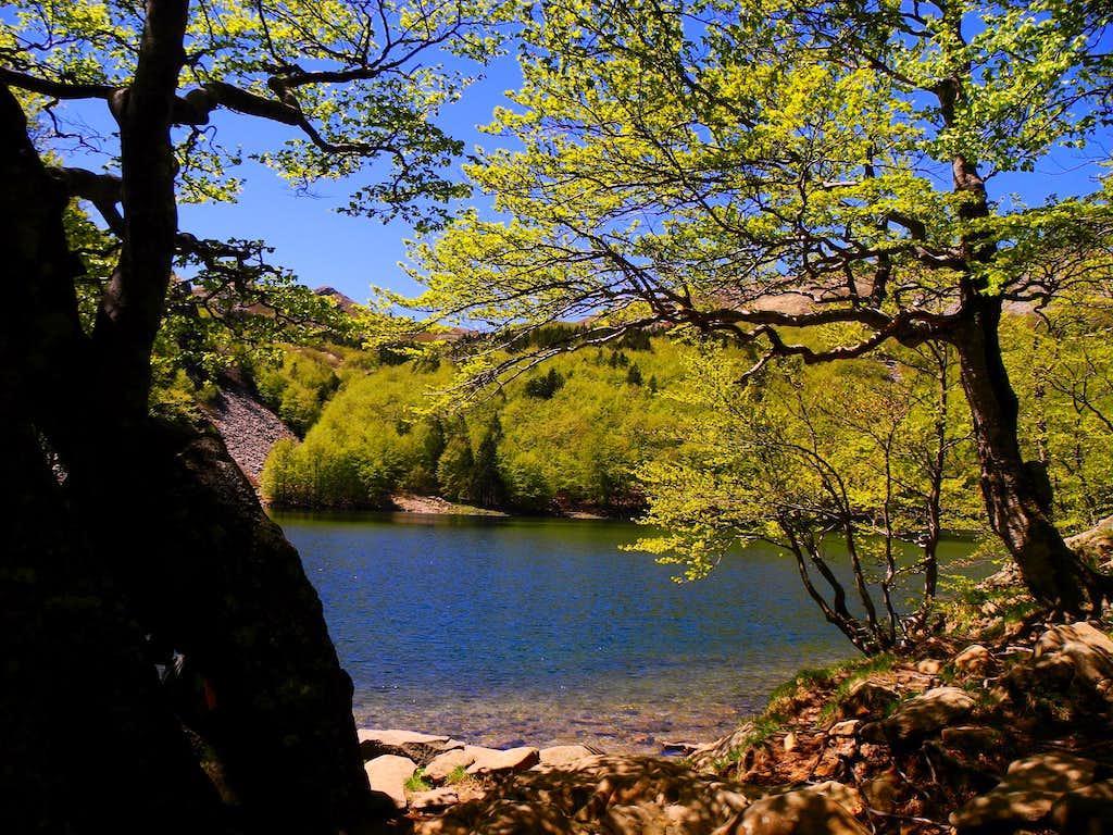 Lago Santo (Holy Lake)