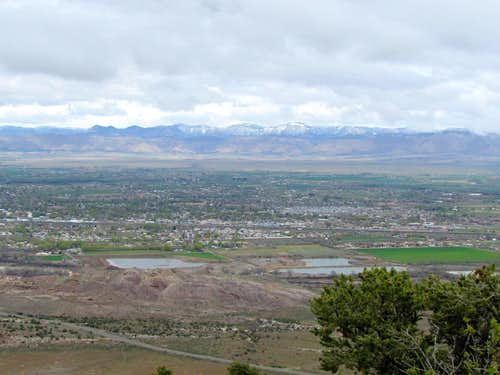 Town of Fruita and Book Cliffs