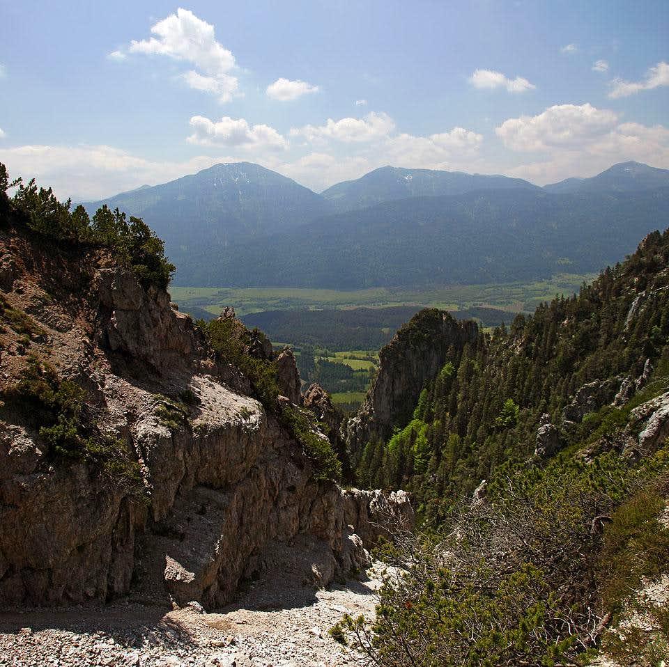 Southern ravines of Gaisruecken