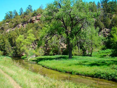 Lower Beaver Creek Canyon