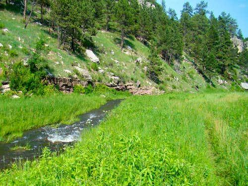 Centennial Trail View