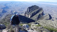 Guadalupe Peak, El Capitan, Shumard, Bartlett, Bush Mountain, Blue Ridge, Mount Pratt and Hunter Peak