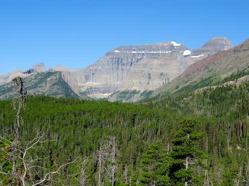 Whitecrow Mountain, Stoney Indian Peaks, Mount Cleveland, Peak 8403 & Kaiser Point