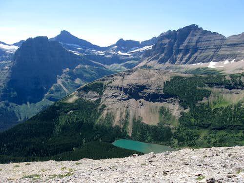 Pyramid Peak, Mount Kipp, Peak 8360, Cathedral Peak & Peak 8848