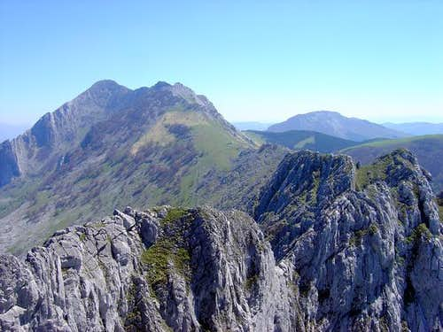 The ridge of Anboto from...