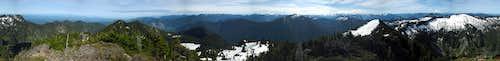 Twin Peaks summit pano