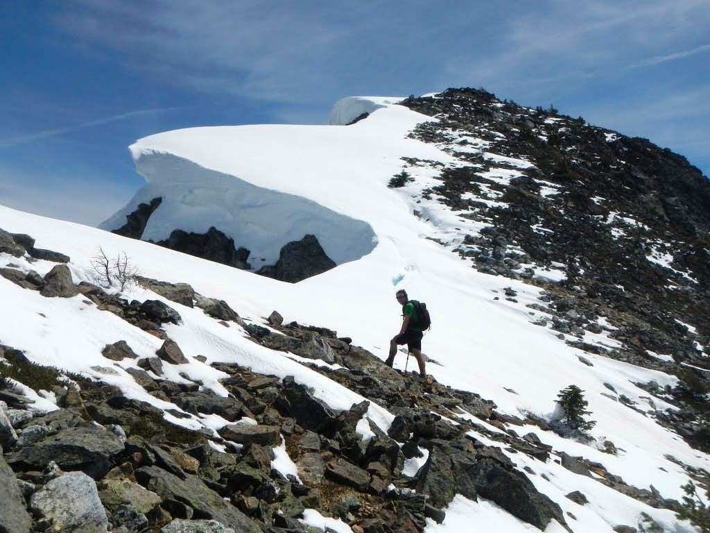 Cornices At The Saddle