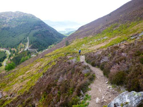 Trail to Skiddaw