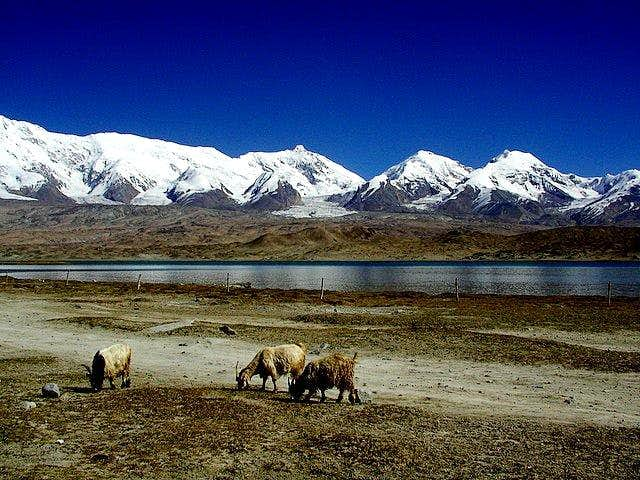 Kongur Massif as seen from...