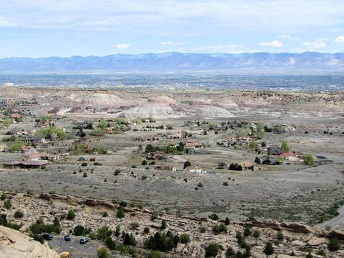 Suburbs of Grand Junction