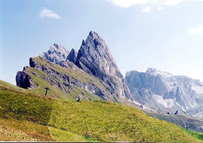 Odle from Seceda