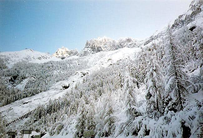 Monte Bianco from France,...
