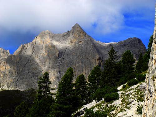 Catinaccio from the approach to Guglia del Rifugio, different perspective and light