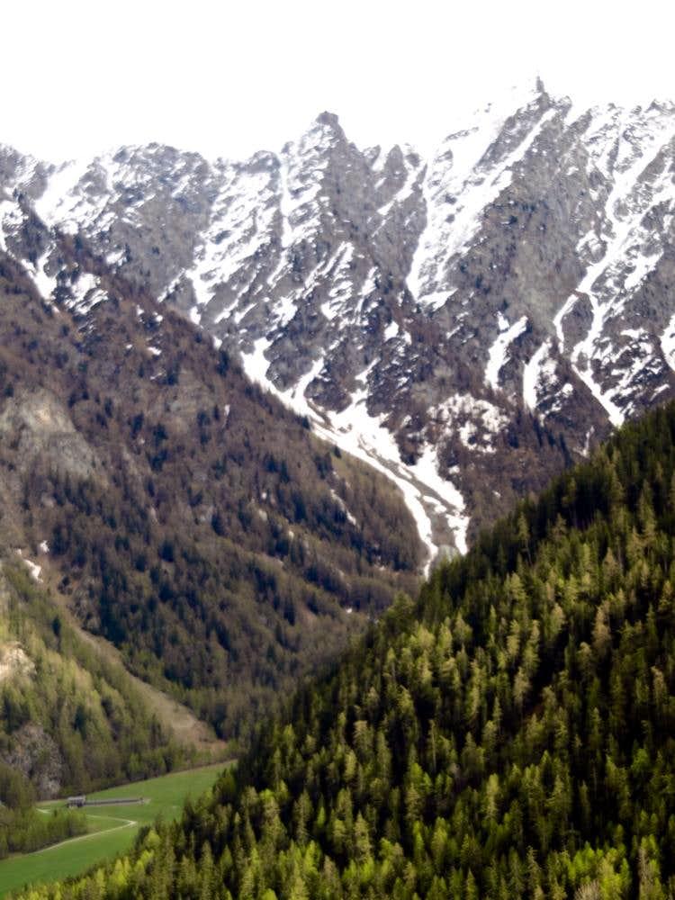 Meitin Alp at the beginning of Combe de Flassin 2016