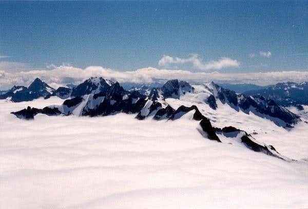 Forbidden Peak (8815 ft)...
