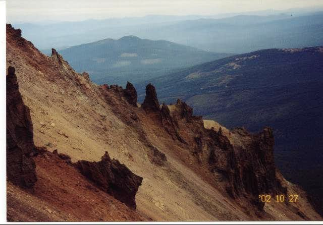More of the Northeast Ridge....