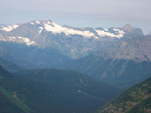 Blackfoot Mountain & Mount Logan with Pumpelly & Pumpkin Glaciers