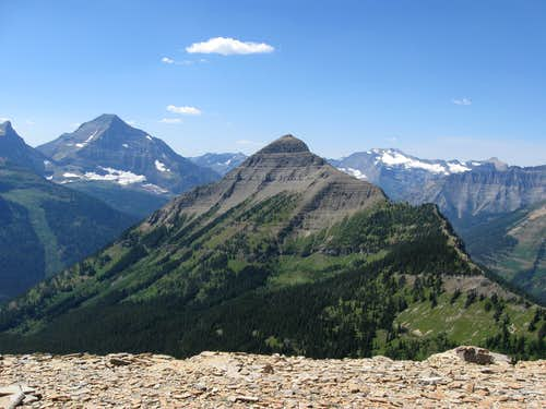 Tinkham Mountain From Near Cut Bank Pass