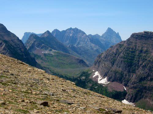 Mount Saint Nicholas & Surrounding Peaks