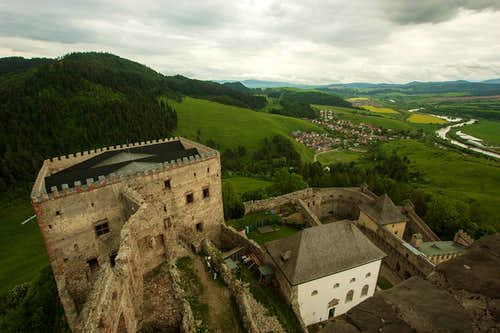 From Stara Lubovna castle to the East